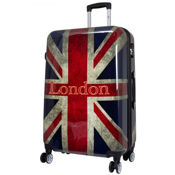 Polycarbonat Reisekoffer Größe L - London