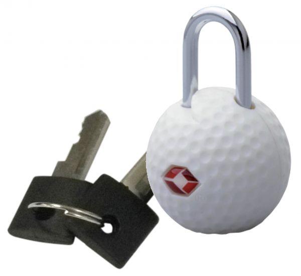 TSA-Kofferschloss Golfball Doppelpack