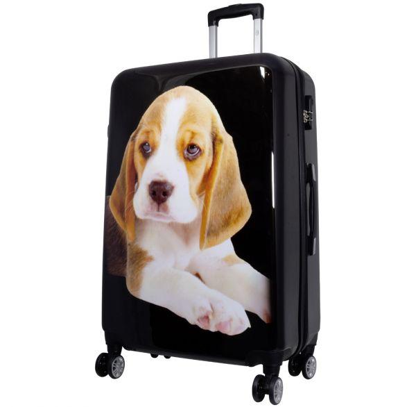 Polycarbonat-Koffer Beagle Größe L