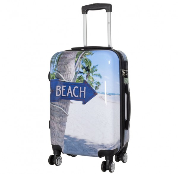 Polycarbonat-Koffer Beach Größe S