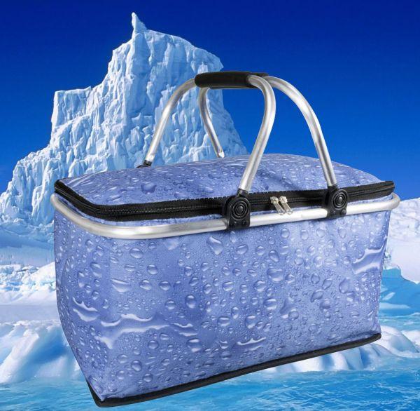 Kühlkorb Wassertropfendesign einklappbar