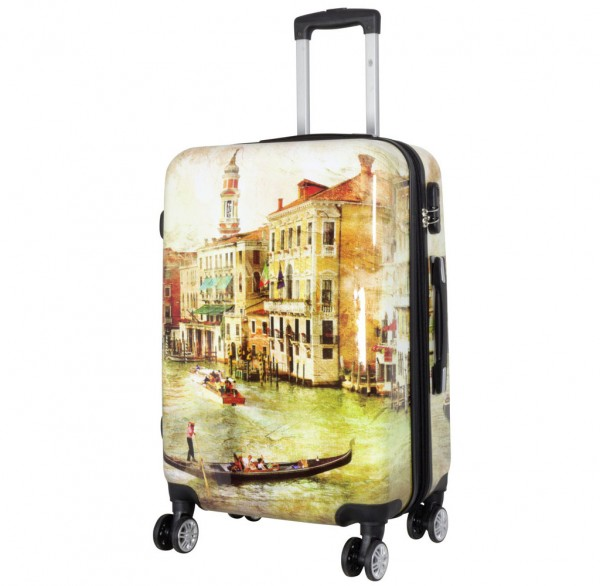 Polycarbonat Citykoffer Größe M - Venedig