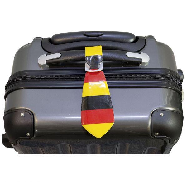 Kofferanhänger Krawatte im Doppelpack