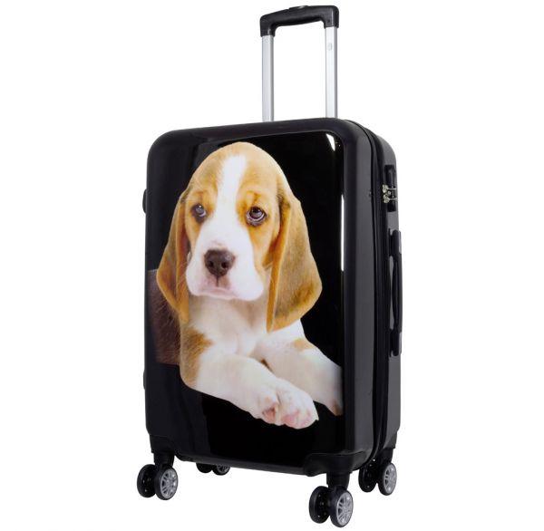 Polycarbonat-Koffer Beagle Größe M