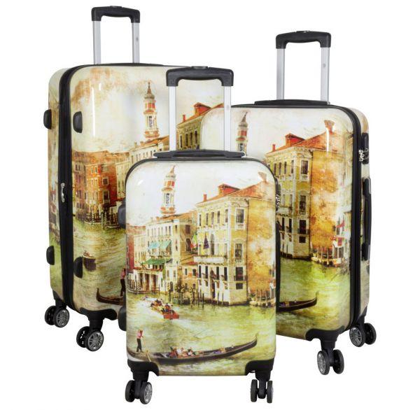 Polycarbonat-Koffer und Kofferset Venedig