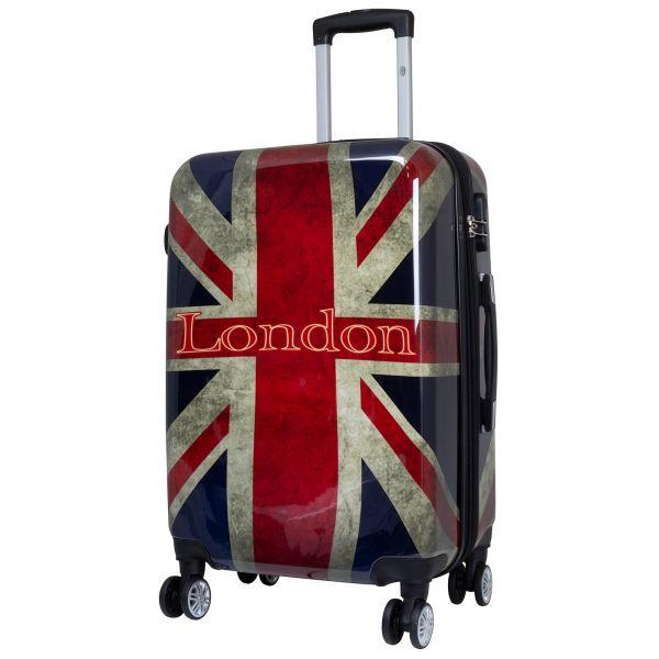 Polycarbonat Citykoffer Größe M - London