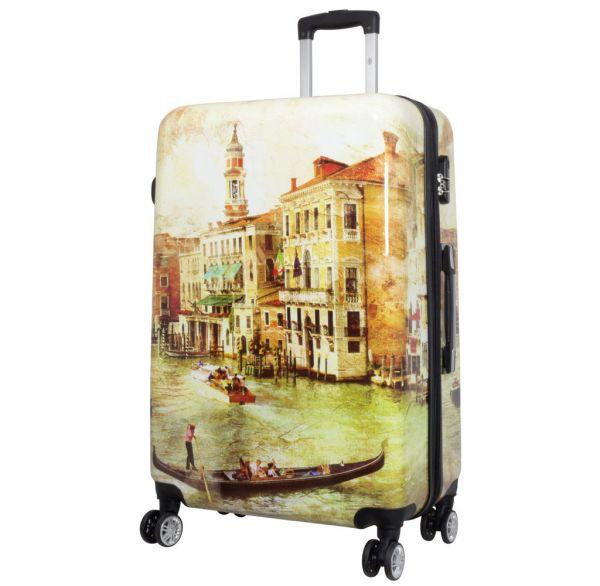Polycarbonat Reisekoffer Größe L - Venedig